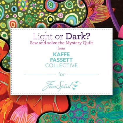 Kaffe Fassett Mystery Quilt - Pastel