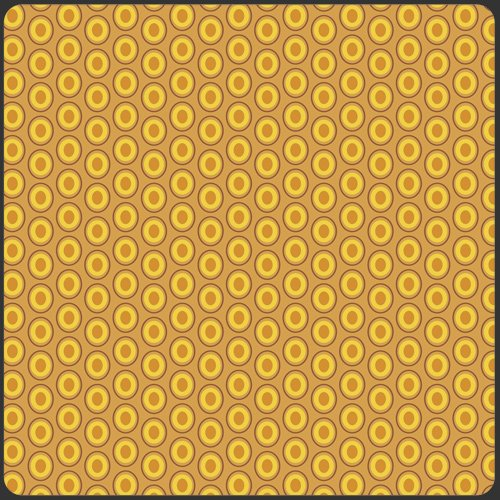 Oval Elements Mustard OE-921