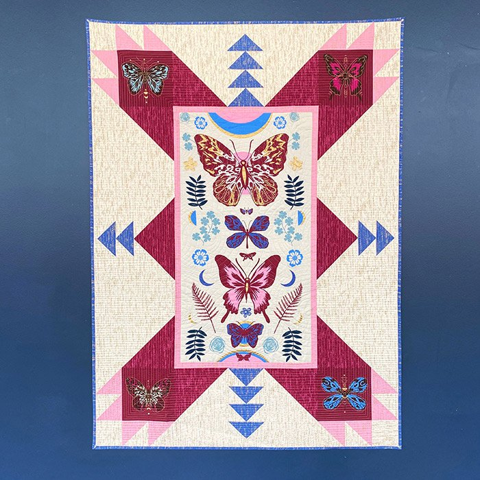 Magic Butterfly Panel Quilt Pattern - PSRS2011