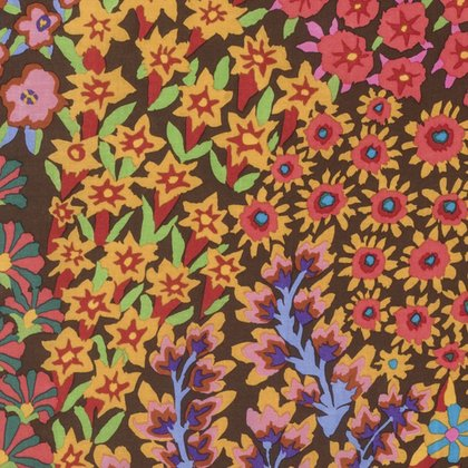 PERSIAN GARDEN-BROWN KAFFE FASSETT - PWGP160.BROWN
