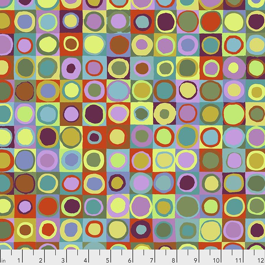 Green - Tiddlywinks -Kaffe Fassett Collective - PWGP171.GREEN