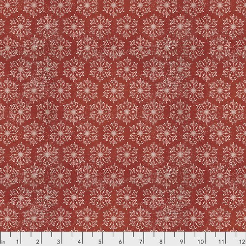 Red - Snowflakes - Yuletide - PWTH119.RED