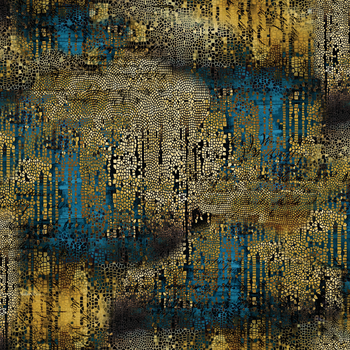 Gold -Gilded Mosaic - Abandoned 2 by Tim Holtz - PWTH140.GOLD