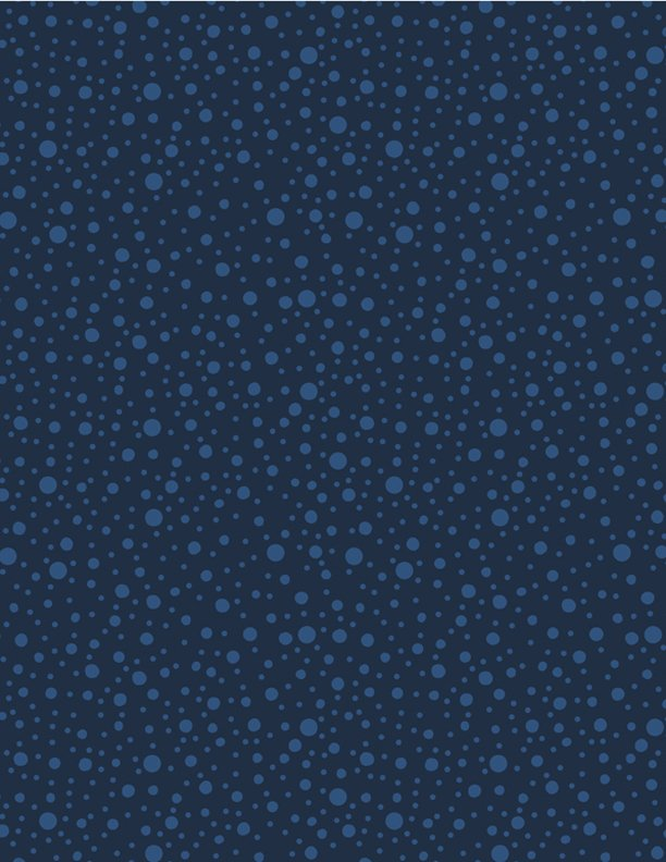 Navy Dotty Dots - Essentials In The Navy - 1817 39090 444