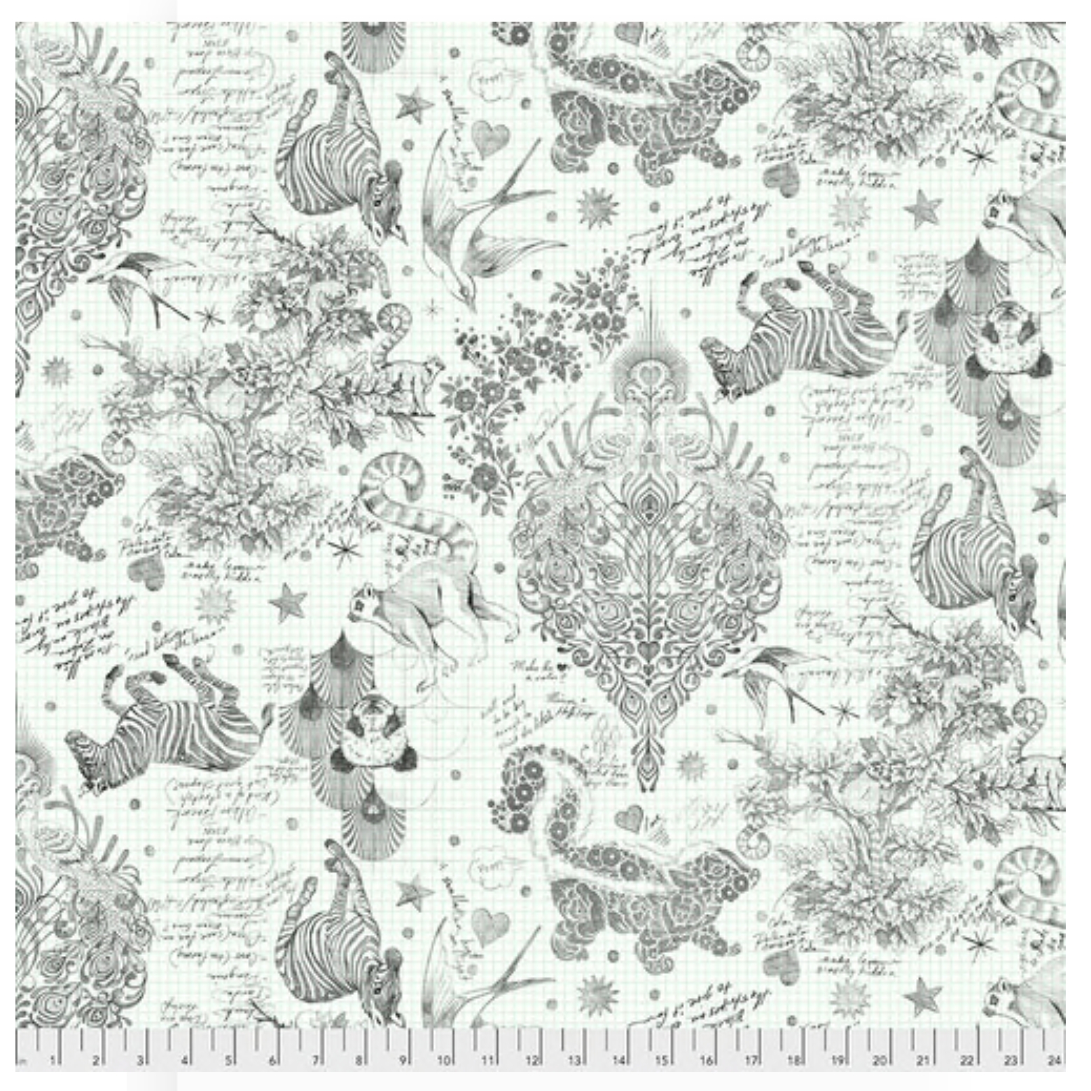 Paper -Sketchyer -  Backing Fabric - Line Work by Tula Pink -