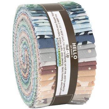 Roll Ups 2.5 Strips - Arctic By Elizabeth Hartman - RU-788-40 - 40 pcs