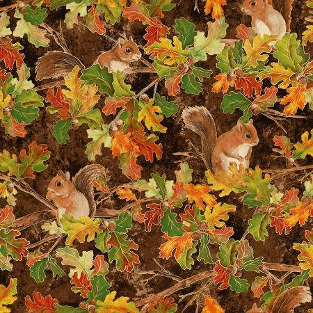 Hickory Metallic  - Shades of Autumn - Woodland Friends - RJ700-HI1M