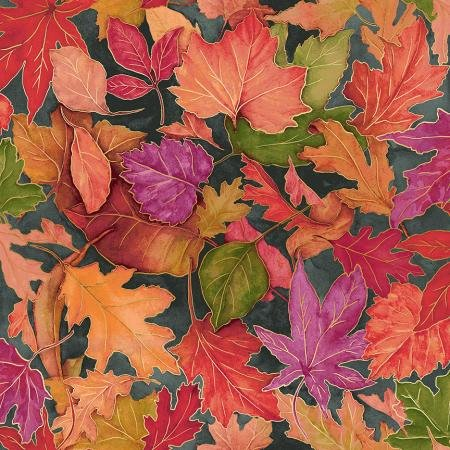 Slate Metallic - Shades of Autumn - Colorful Foliage - RJ701-SL2M