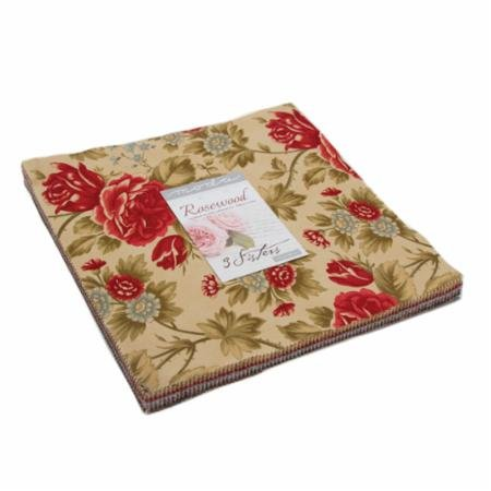 Rosewood Layer Cake  - 3 sisters - 44180LC