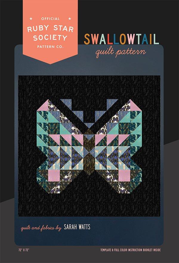 Swallowtail Quilt Pattern - RSS P110G
