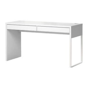 Sewing Table 2 Drawer White