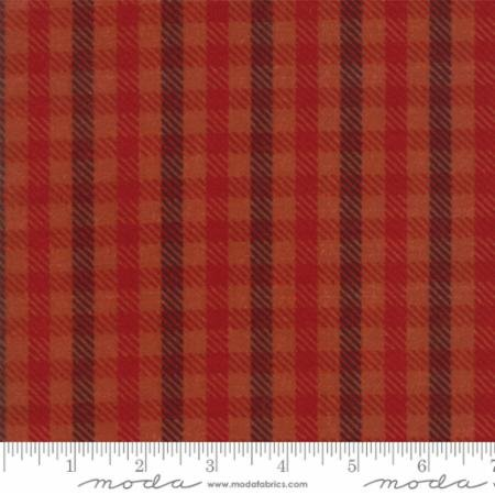 Salmon - Wool Needle VI - 1255 27F Moda Flannel #1