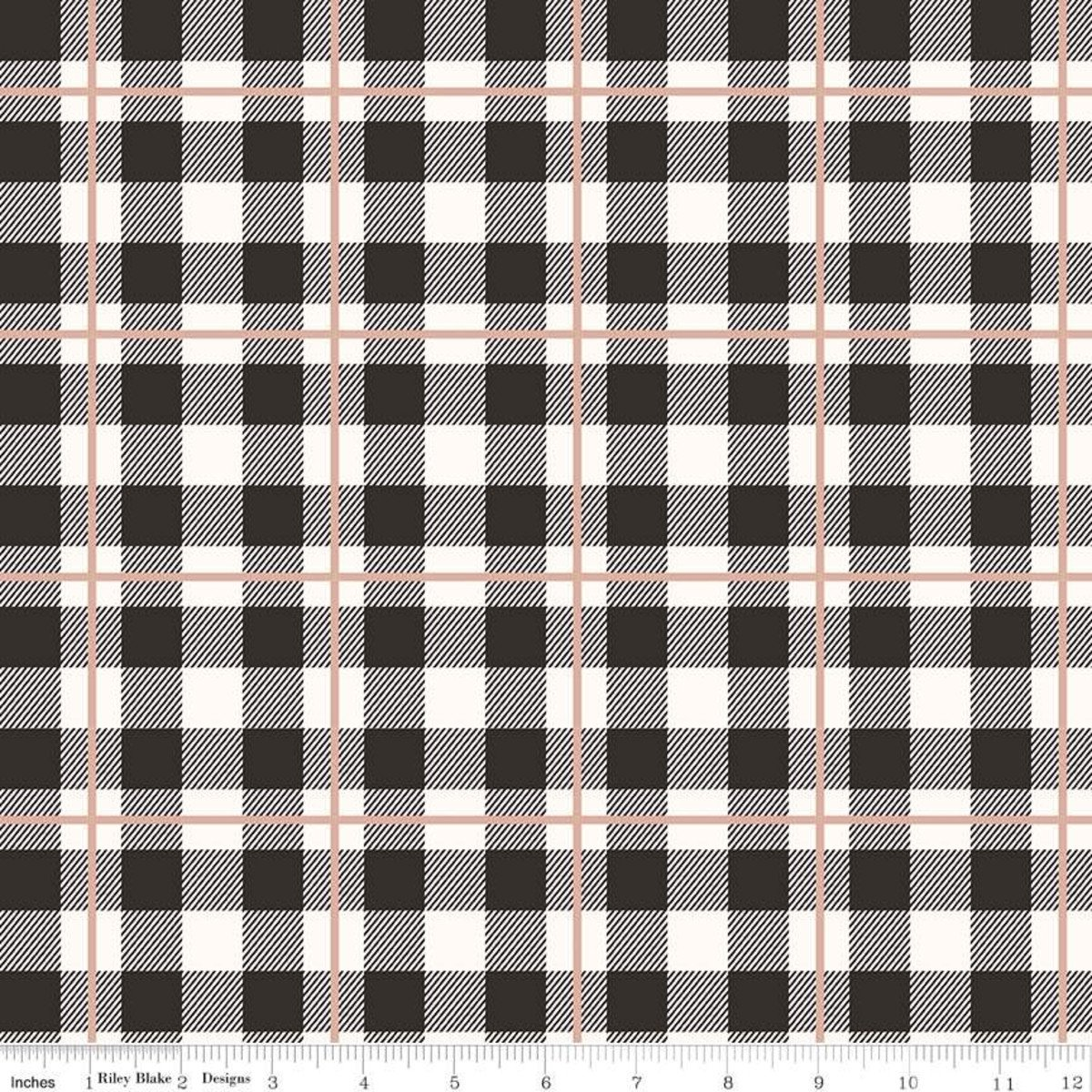 Plaid - Yes Please - SC6555-ROSEGOLD