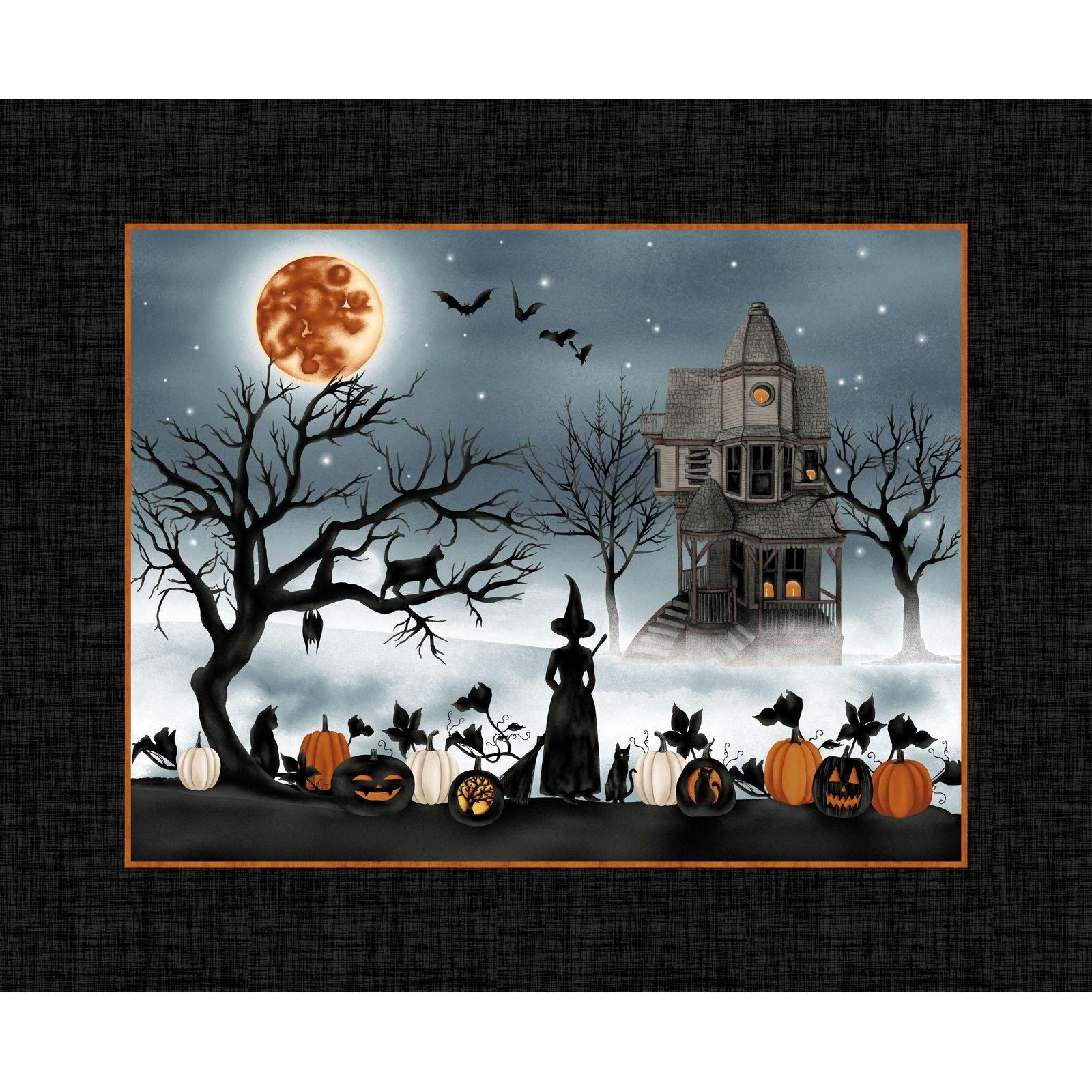Black - 36 Panel - Harvest Moon by Grace Popp - SEF5240P-99