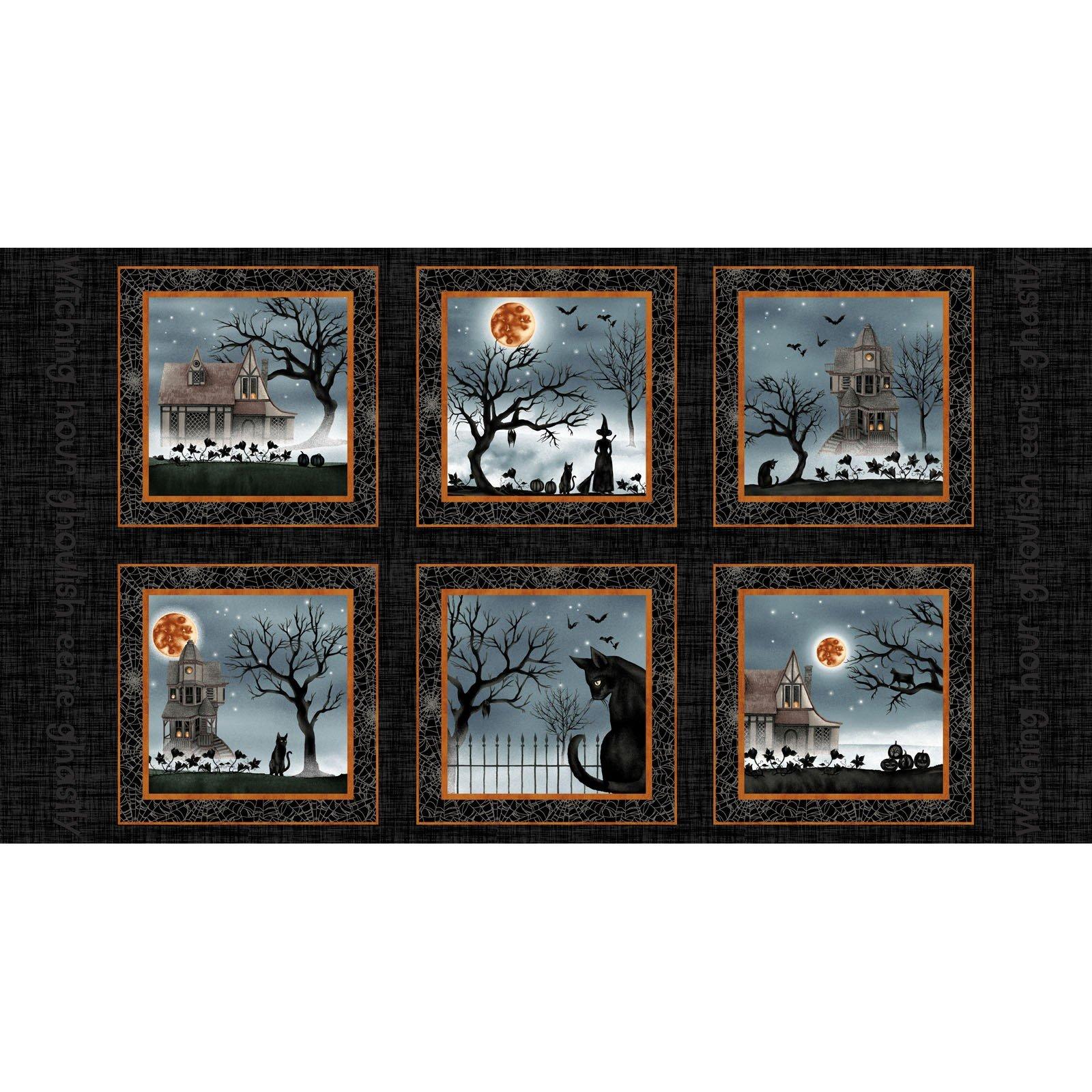 Black - 10.5 Blocks - Harvest Moon by Grace Popp - SEF5241-99