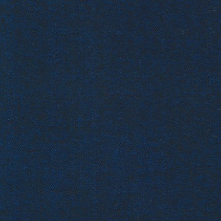 Navy - SHETLAND FLANNEL - SRKF-13936-9 NAVY