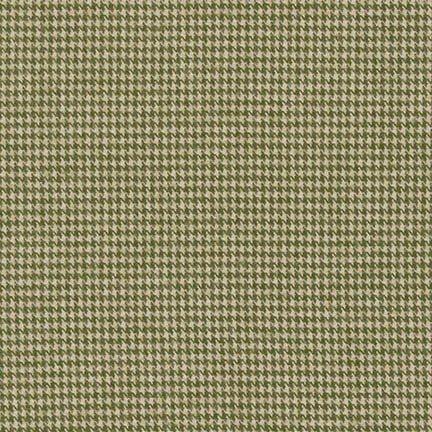 Olive - SHETLAND FLANNEL - SRKF-14769-49 OLIVE