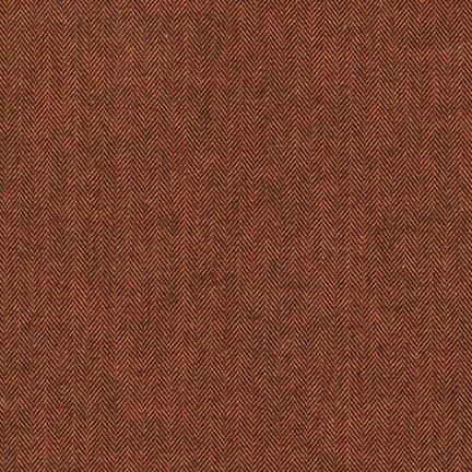 Russet - SHETLAND FLANNEL - 15614-180 RUSSET