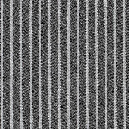 Black - Tamarack Stripes Flannel  - SRKF-18221-2
