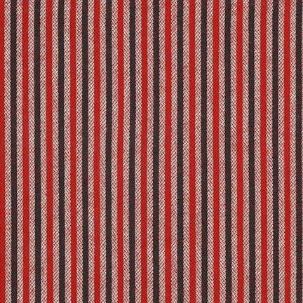 Red - Tamarack Stripes Flannel  - SRKF-18227-3