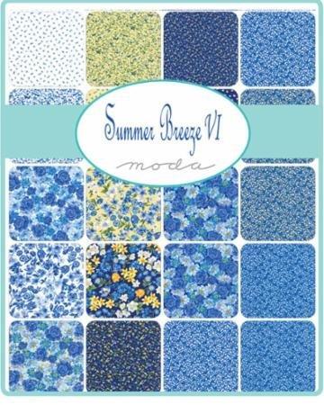 Summer Breeze VI Layer Cake - 33370LC