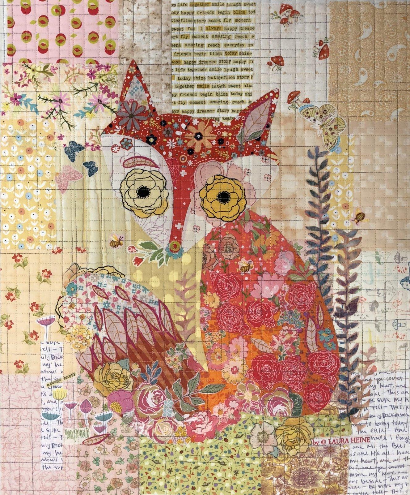 Teeny Tiny Collage #2 Fox KIT by Laura Heine