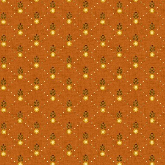 Welcom Wagon by Kim Diel - Pumpkin Orange