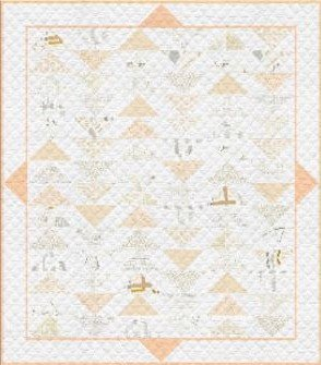 Plenum - No. 12 Winter Wheat Quilt Kit 57 1/2' x 64