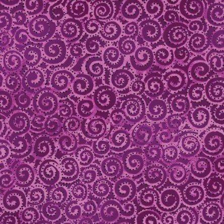 Eggplant - Swirl - Laurel Burch Basics - Y1293-45