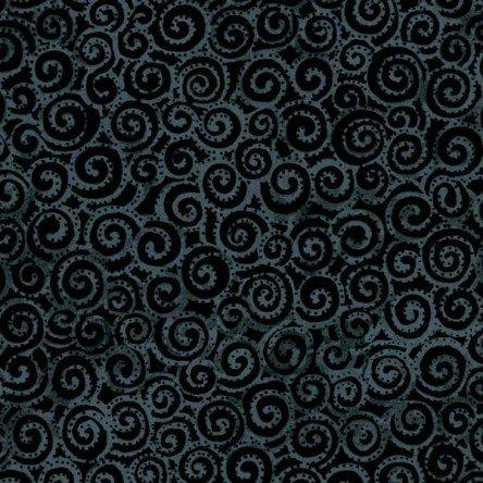 Dark Gray - Swirl - Laurel Burch Basics - Y1293-7