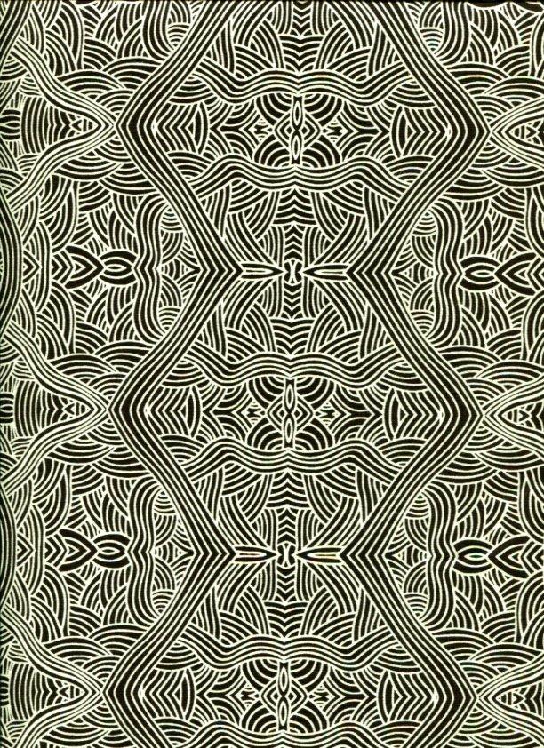Aboriginal Untitled Black