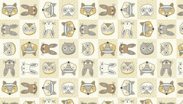 Doodle Days 1872 Q Heads Ivory