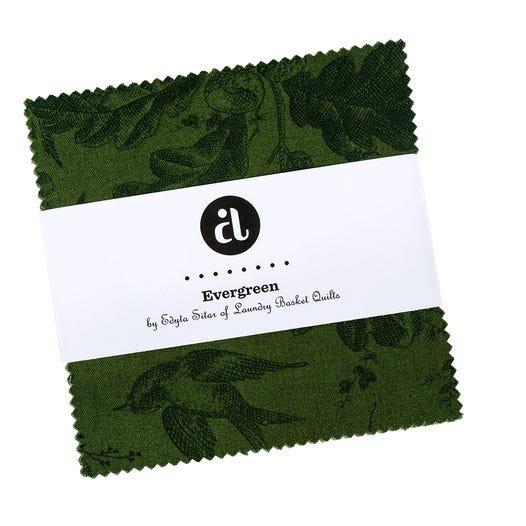 Evergreen charm pack