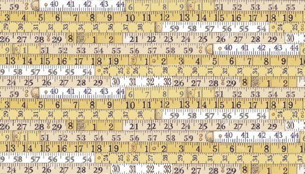 Haberdashery 1702 Y Tape Measure