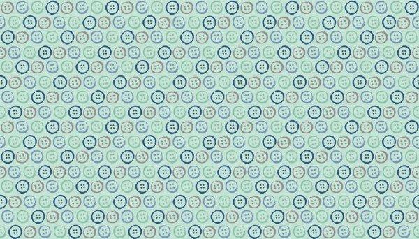 Handmade 1891 B Buttons Blue