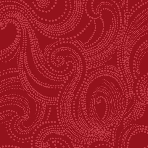 Imperial 23919 R Cranberry Scroll