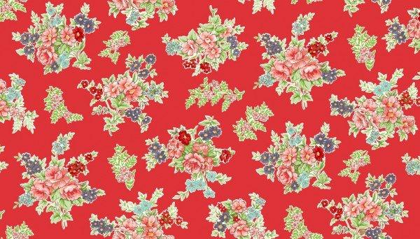 Katie Jane 1900 R Bouquet Red