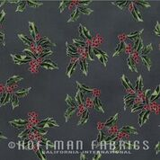 Hoffman Good Tidings N7521 55 S Charcoal Silver