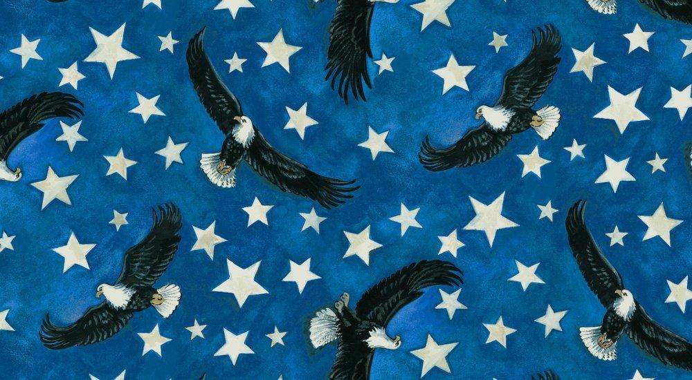 USA All the Way 7405 077 Eagle and Stars