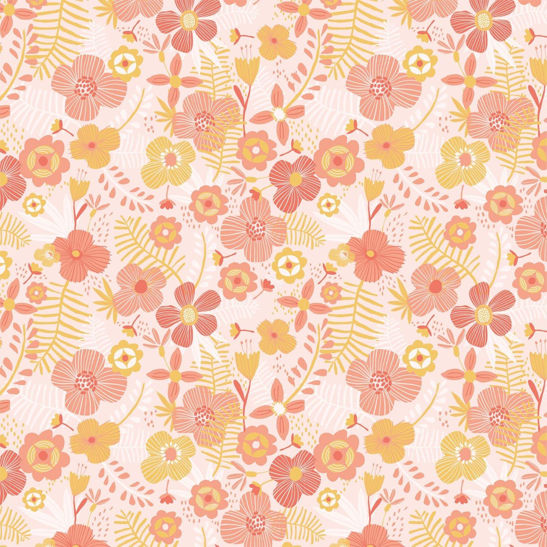 Jumbo Flowers Poplin P96 by Katia Fabrics
