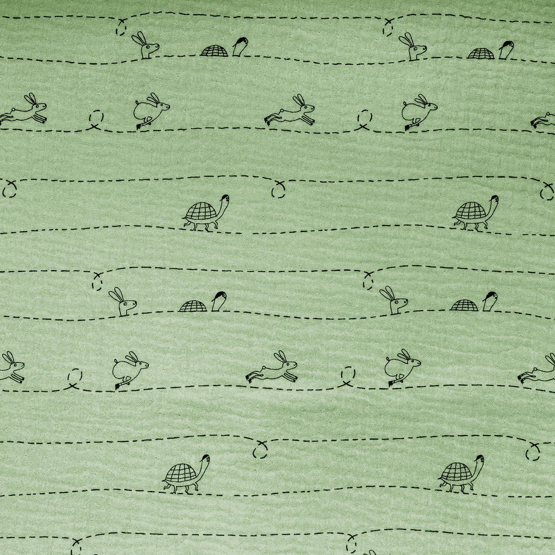 Tortoise and the Hare Muslin/Double Gauze mg5 by Katia Fabrics
