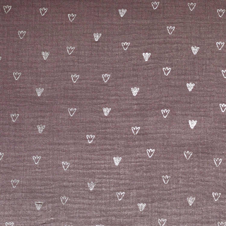 Ugly Duckling Foot Print Muslin/Double Gauze mg4 by Katia Fabrics