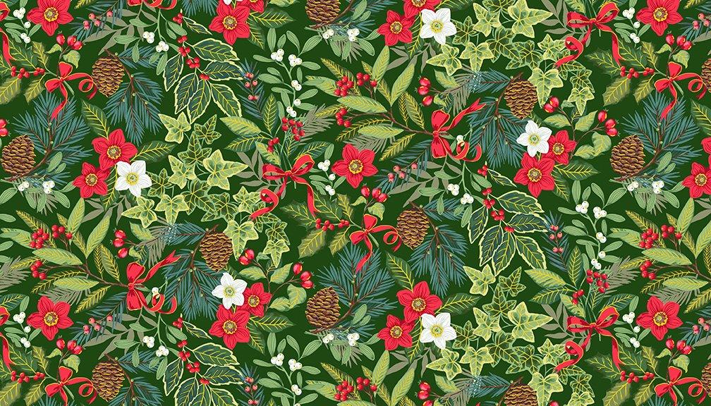 Yuletide Christmas Collection by Makower UK