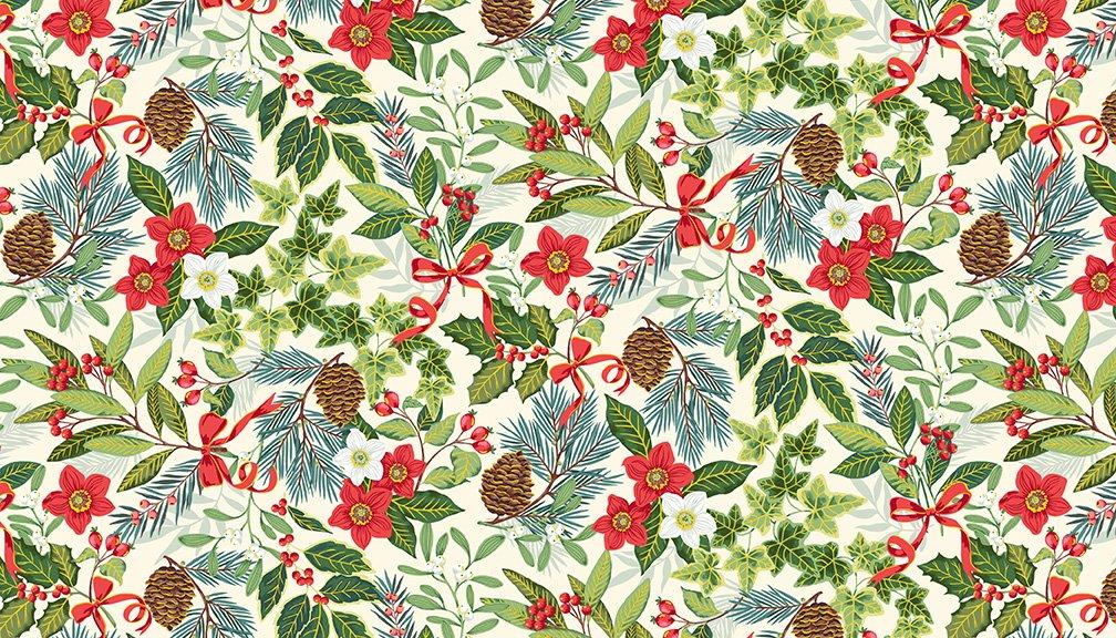Yuletide Christmas Collection by Makower UK - Christmas 2020