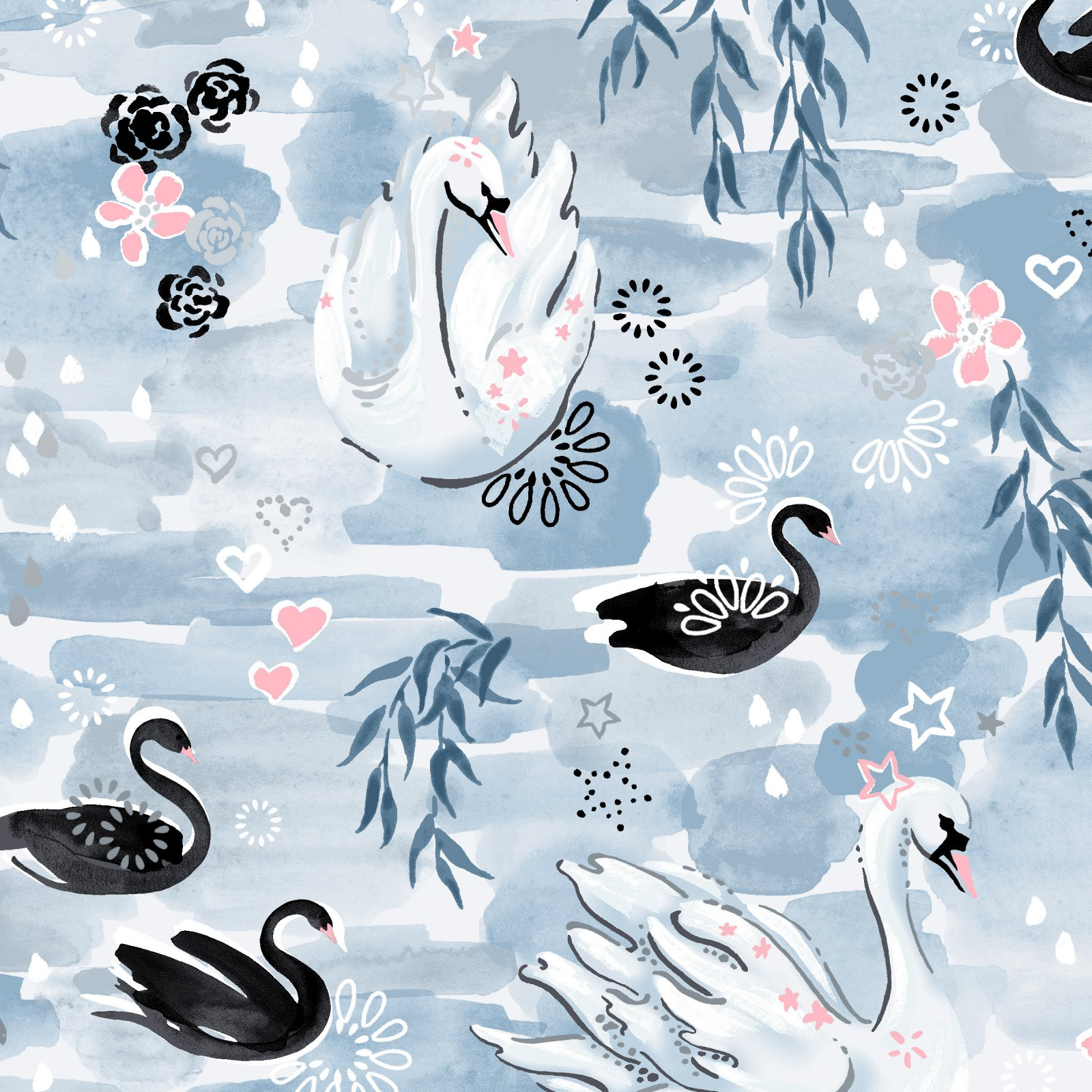 Enchanted Lake by Flaurie & Finch for RJR Fabrics