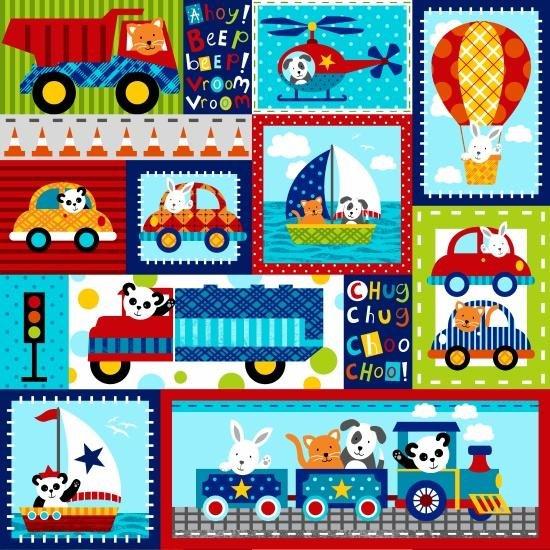 Off We Go! By Studio E Fabrics