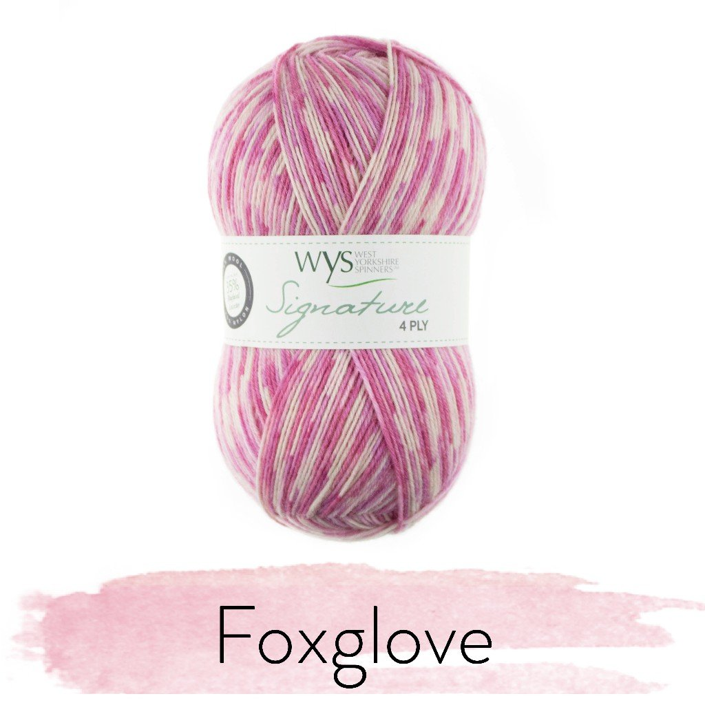 The Florist Collection - Signature 4ply by the West Yorkshire Spinners