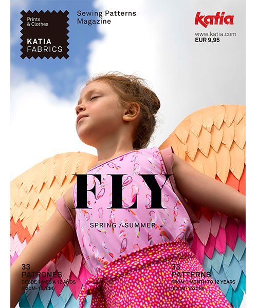 Katia Sewing Pattern Book Fly S/S 2021