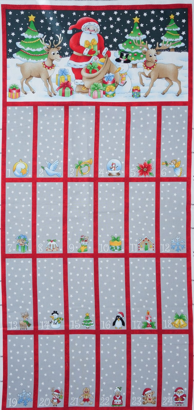 Advent Calendar - Fold Up and Sew!