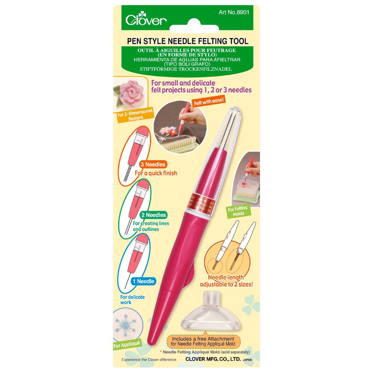 Pen Style Needing Felting Tool by Clover